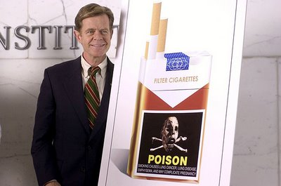 William H. Macy in Thank You for Smoking, directed by Jason Reitman