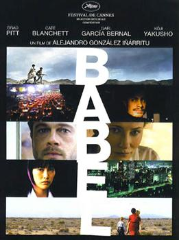 Poster for Babel, directed by Alejandro Gonzlez Irritu