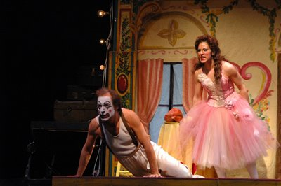 Gustavo López Manzitti and Cristina Nassif, I Pagliacci, Virginia Opera, 2007, photo by Anne Peterson