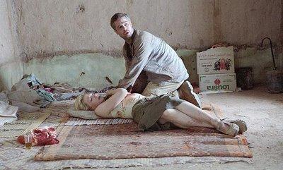 Cate Blanchett and Brad Pitt in Babel, directed by Alejandro González Iñárritu