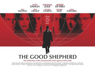 Poster for The Good Shepherd, directed by Robert De Niro