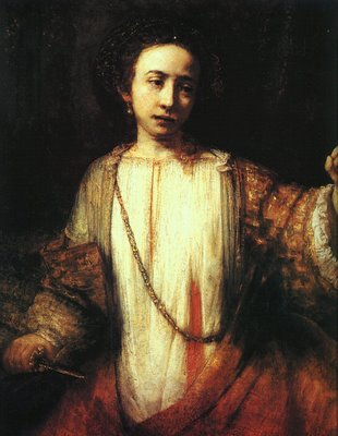 Rembrandt van Rijn, Lucretia, 1666, Minneapolis Institute of Arts