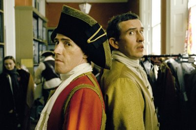 Rob Brydon and Steve Coogan in Tristam Shandy: A Cock and Bull Story, directed by Michael Winterbottom