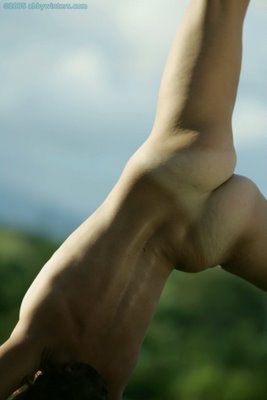 Excellent naked women cartwheeling are