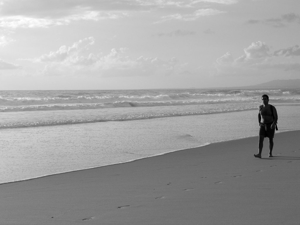 I Am A Man Who Walks Alone