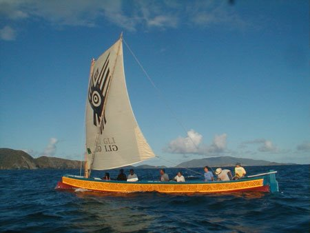 The Voice of the Taino People Online: Famed Carib Canoe ...