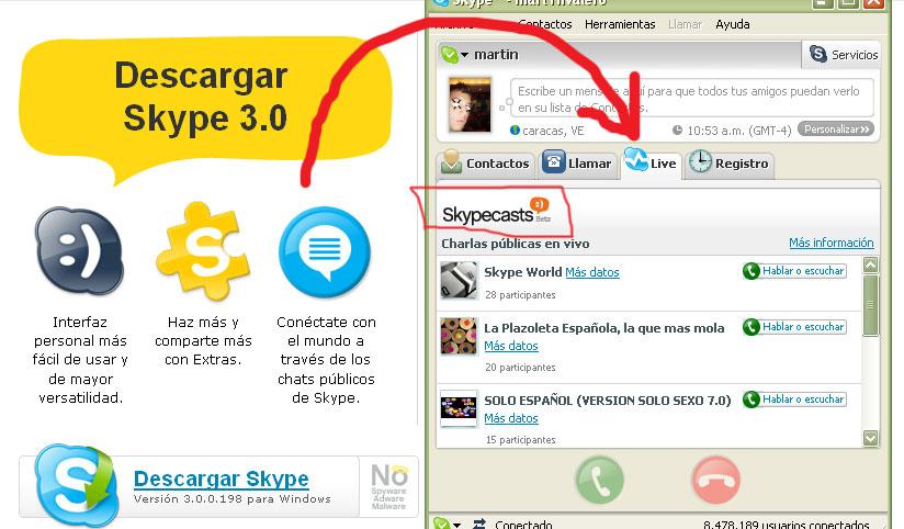 skype alemán hacerse una paja