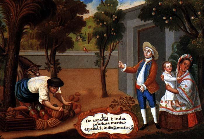 Mestizos Spanish-colonial