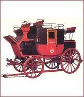 Modelo importado da Inglaterra em 1854