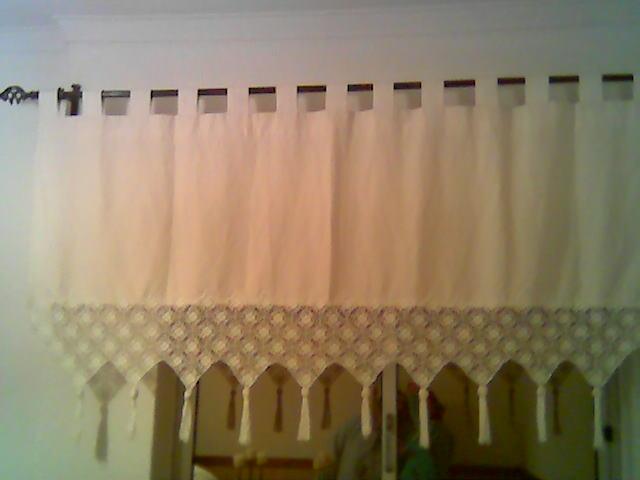 Aroma natural cortinados de linho com renda - Cortinados modernos ...