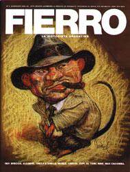Fierro Nº 2, portada de Carlos Nine