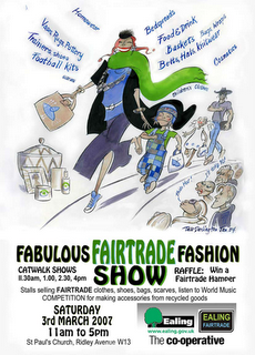 Fairtrade Fashion Show poster