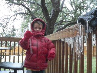 Joe e um icicle