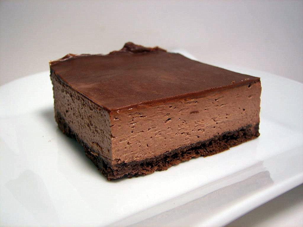 Culinary in the Desert: Double Chocolate-Mint Cheesecake Bars