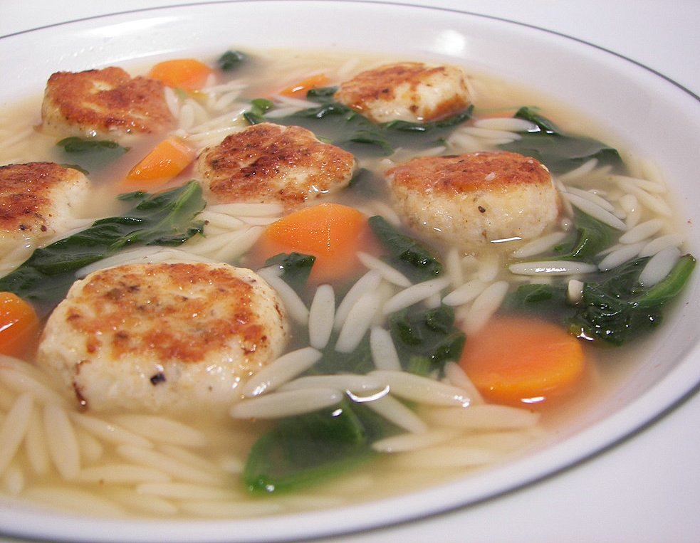 Spinach Stracciatella Soup With Orzo Recipes — Dishmaps