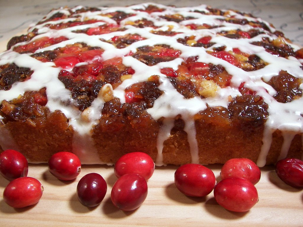Culinary in the Desert: Cranberry Upside-Down Coffee Cake