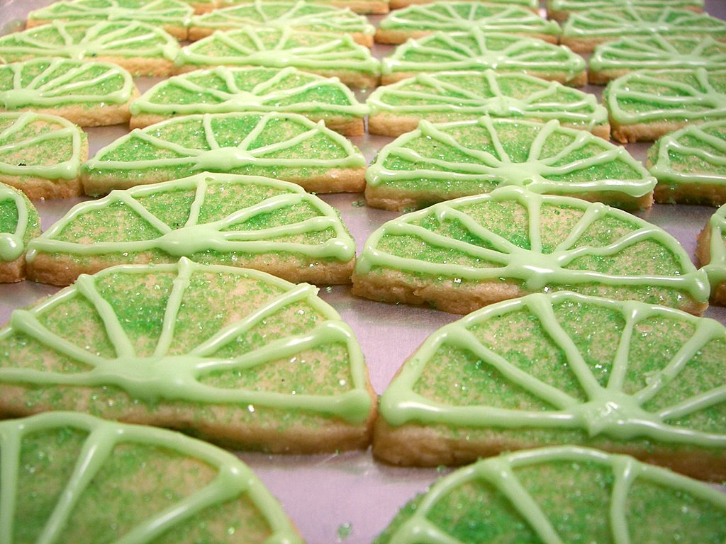 Culinary in the Desert: Key Lime Sugar Cookies