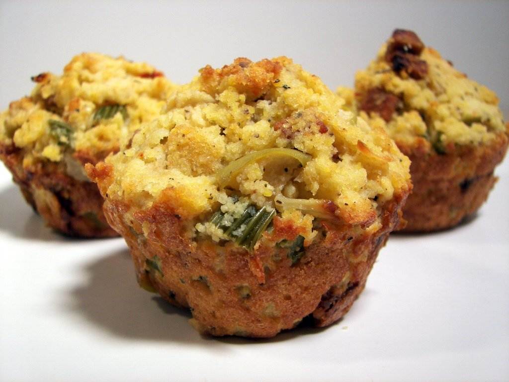 Culinary in the Desert: Sausage, Apple, and Fennel Corn Bread Dressing
