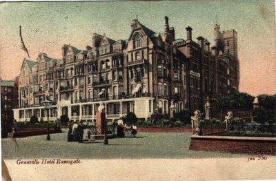 The Imposing Granville Hotel C 1895