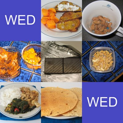 Wednesday Food Collage