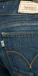 Organic Green NEW Levi's Jeans