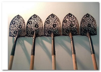 cal lane lace shovels