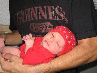 Killian in Daddy's Arms
