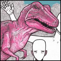 Pink T-Rex