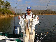 Lake Carl Blackwell Oklahoma Fishing Guide David Clard