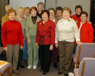 First UMC Ladies Circle Photo by Billy J. Turnage 2007