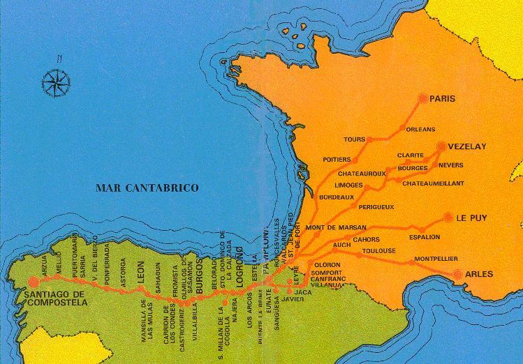 el camino de santiago las peregrinaciones favorecieron la difusión de ...
