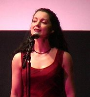 Andrea Gerak performing the song Lonely Is The Bird