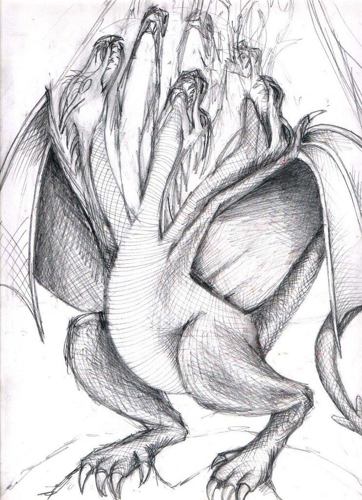 Coso De Ilustradores Lapiz A Medio Dragones