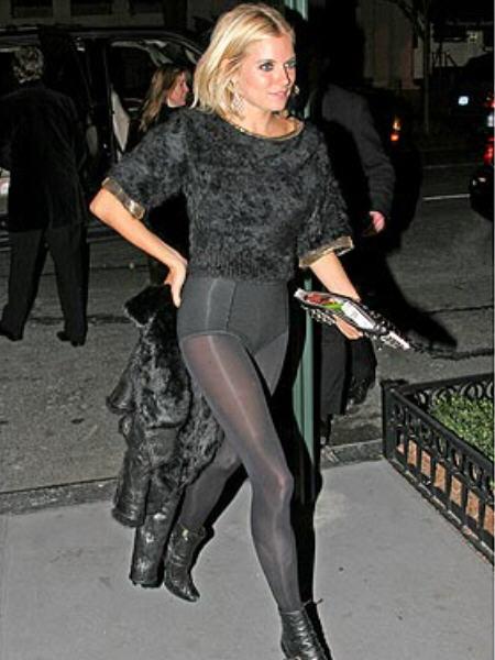 CelebPixx: Sienna Miller Flashes Her Legs