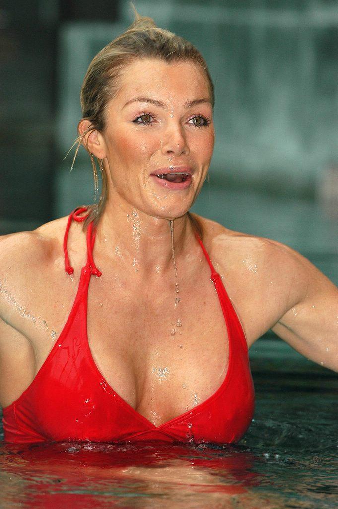 Did not Nell mcandrew speedo swimwear photo shoot