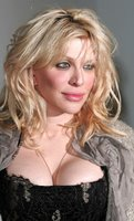 Courtney Love Cleavage Shots