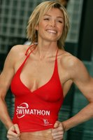 Nell McAndrew Gets Wet