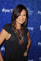 Tia Carrere in a See-Thru Top