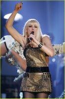 Gwen Stefani in Black Nylons