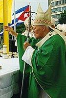 El Papa Juan Pablo II en Cuba