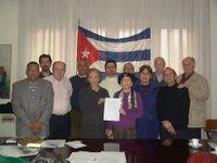 Algunos representantes de organizaciones integrantes del CCLC