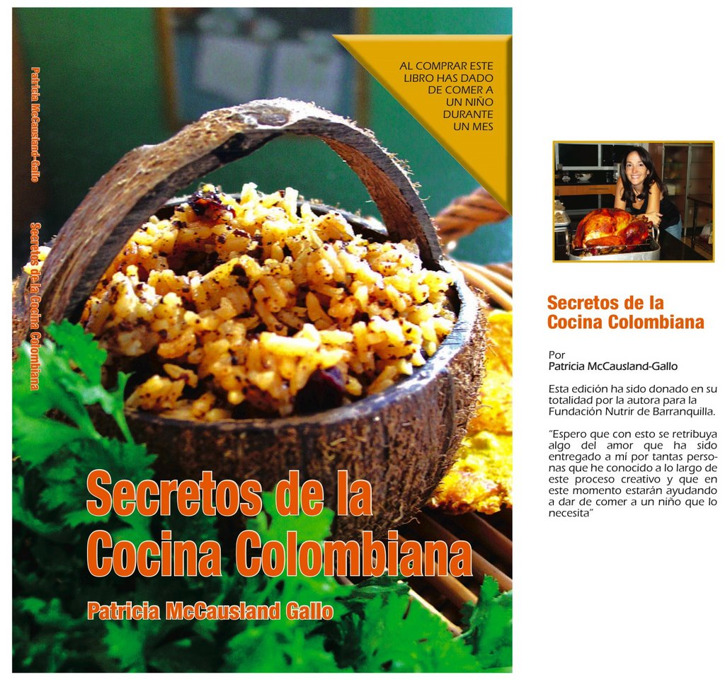 Iacp global blog two cookbooks for two good causes patricia mccausland gallo will release the spanish version of her book secrets of colombian cooking on december 7 in barranquilla colombia forumfinder Gallery