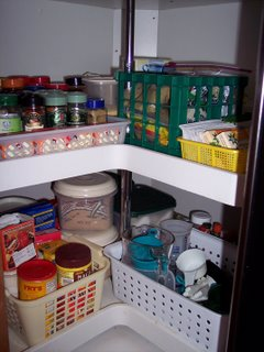 Tackle it tuesday lazy susan - How to organize a lazy susan cabinet ...
