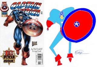 Capitão América: state of art