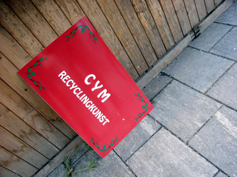 cym - recyclingkunst
