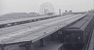 Coney Island Train Station