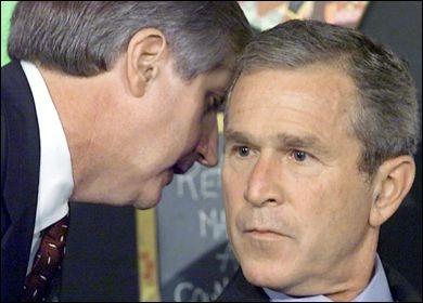 Bush Receives Instructions