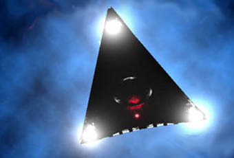 UFO Triangle American made
