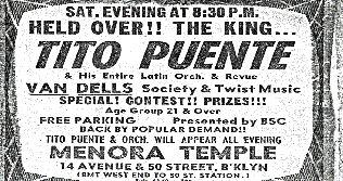 The Vandells Billing with Tito Puente