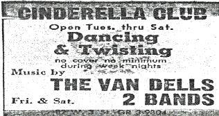 The Vandells Cinderella Club Ad